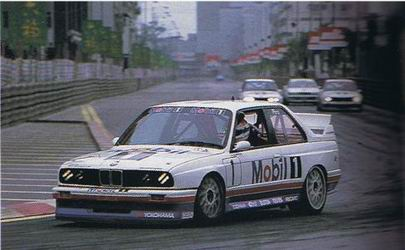 Macau GP BMW M E Winner Emanuele Pirro - 1992 bmw m3